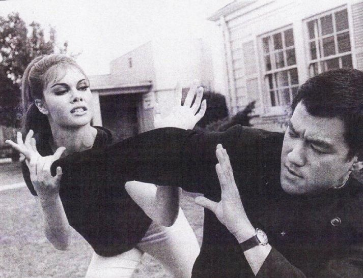 Bruce Lee e Sharon Tate